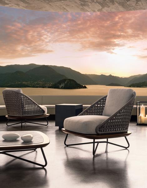 Outdoor коллекция мебели Rivera от фабрики Minotti   галерея [1] фото [6]