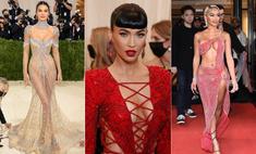 Самые смелые наряды моднейшего бала Met Gala (соблазнительная фотоподборка)