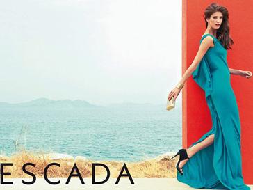 Рекламная кампания Escada, весна-лето 2013