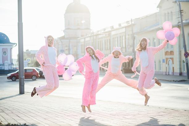 свадьба, девичник, Томск