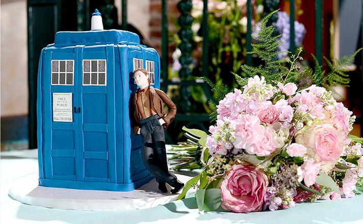 Свадьба в стиле Доктор Кто фото