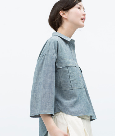 Рубашка Zara, 2999 руб.