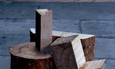 Есть идея: Мебель из поленьев