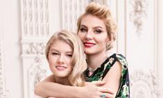 Рената Литивинова и ее дочь в летней кампании Zarina
