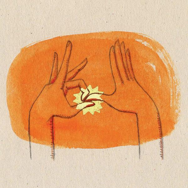 Эта мудра активизирует энергию и борется с усталостью