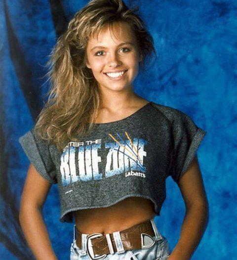 Памела Андерсон в 1989 году