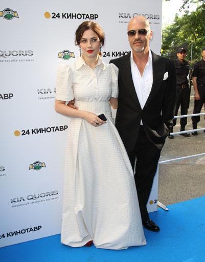 Федор Бондарчук и Юлия Снегирь