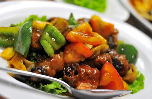 Свинина с овощами рецепт