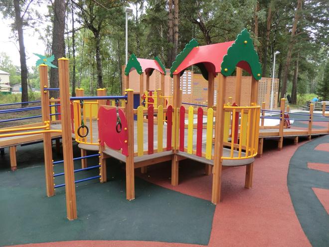 Ротари-парк в Новосибирске