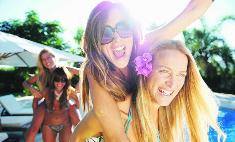 Где провести выходные? На вечеринке у бассейна!