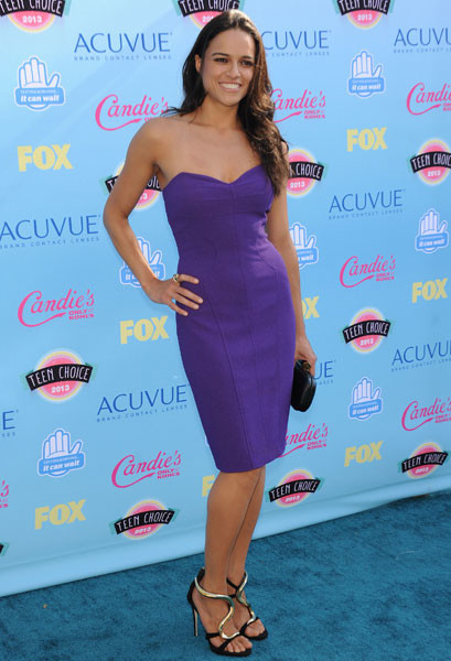 Мишель Родригес на Teen Choice Awards-2013