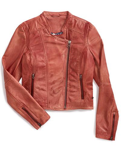 Кожаная куртка Levi's