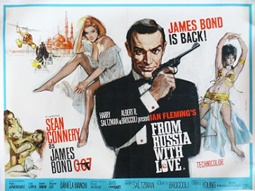 Плакат «Из России с любовью»