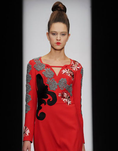 Mercedes-Benz Fashion Week: Модный дом «Татьяна Парфенова», весна-2012