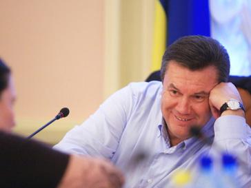 Виктор Янукович получил картину Караваджо