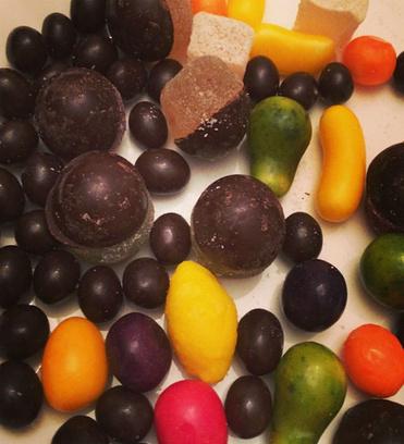 Конфетная диета Виктории Бони