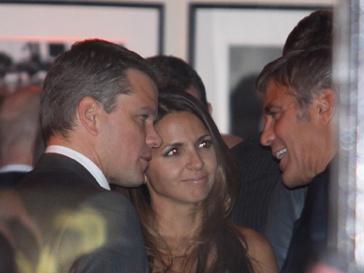 Джордж Клуни и Мэтт Деймон
