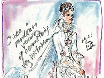 Платье от Karl Lagerfeld