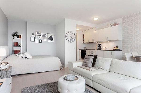 Примеры дизайна квартиры в белом цвете фото