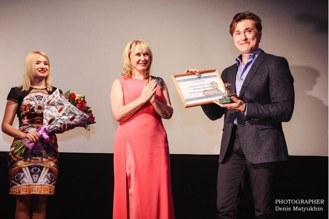 Сергей Безруков получил первую кинонаграду