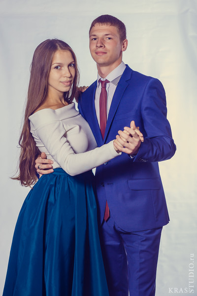 Алексей Катренко и Яна Крылова