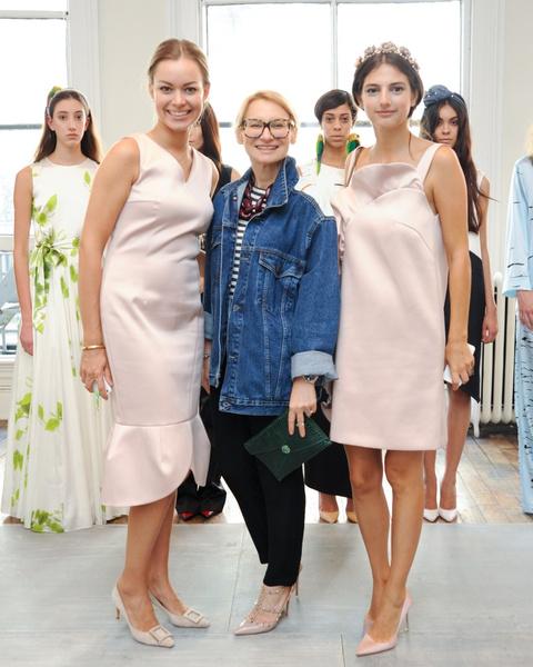 Анастасия Романцова, Эвелина Хромченко и Наталья Понятовски