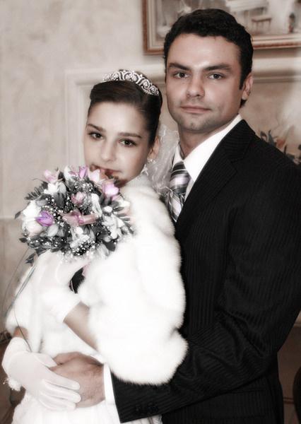 В 2005 году Алексей и Глафира сыграли свадьбу.