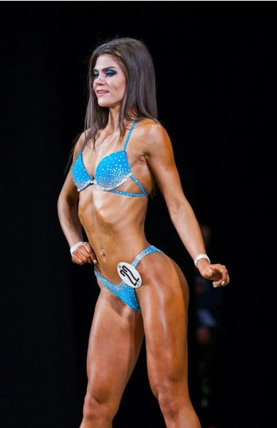 Марина Сепач, фитнес-бикини модель, г. Красноярск