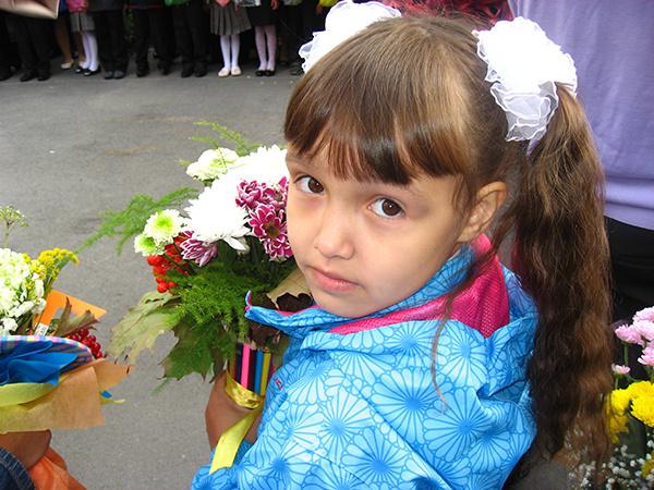 Варвара Баскова первое сентября