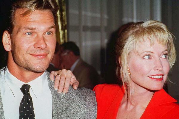 Патрик Суэйзи и его жена Лиза Ниеме