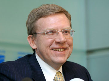 Министр финансов Алексей Кудрин