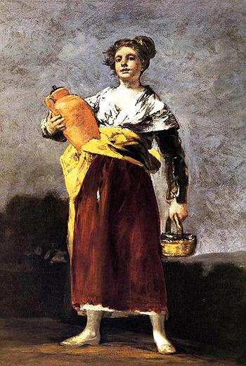 Франсиско Гойя «Водоноска», 1810 год