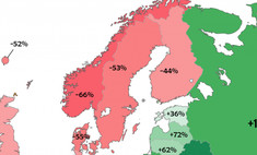 Карта: как нужно изменить ВВП страны, чтобы все граждане Европы стали равны