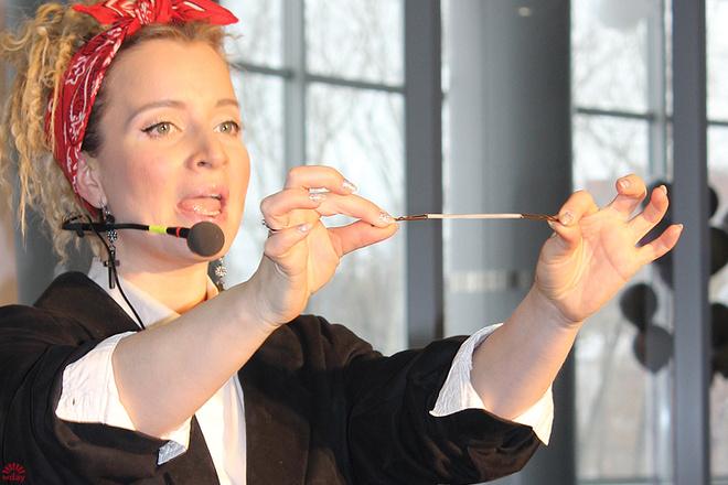 Мастер-класс стилиста Елены Коробовой в Екатеринбурге, фото