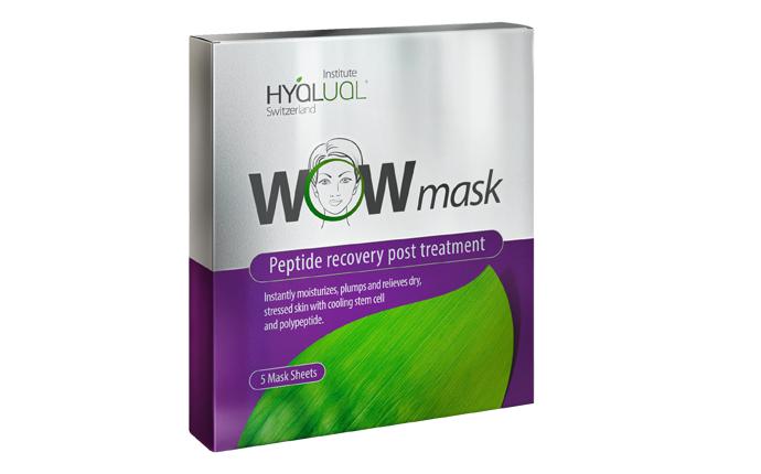 Красота за 5 минут: чудо-маска Hyalual® WOW