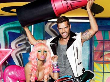 Первый снимок рекламной кампании MAC Viva Glam с участием Рики Мартина и Ники Минай