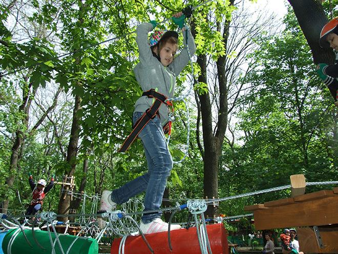 1 мая, гулянья, веревочные парки, Ростов