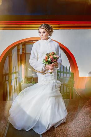 свадебное платье, свадебный образ
