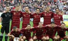 Сборная России потеряла девять позиций в рейтинге FIFA