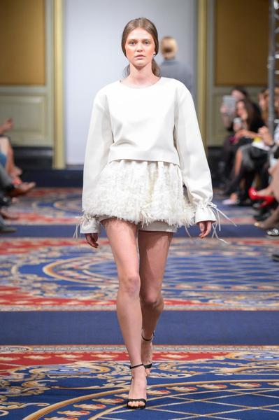 Показ осенне-зимней коллекции Ruban на Mercedes-Benz Fashion Week RussiaПоказ осенне-зимней коллекции Ruban на Mercedes-Benz Fashion Week Russia   галерея [2] фото [18]