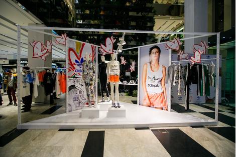 Topshop и adidas Originals представили совместную коллекцию