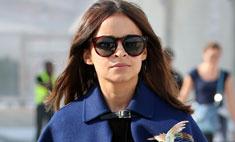 Осенний тренд: Мирослава Дума в модном кейпе