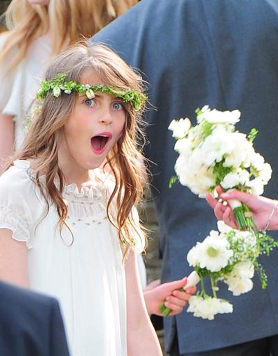 Подружка невесты Кейт Мосс