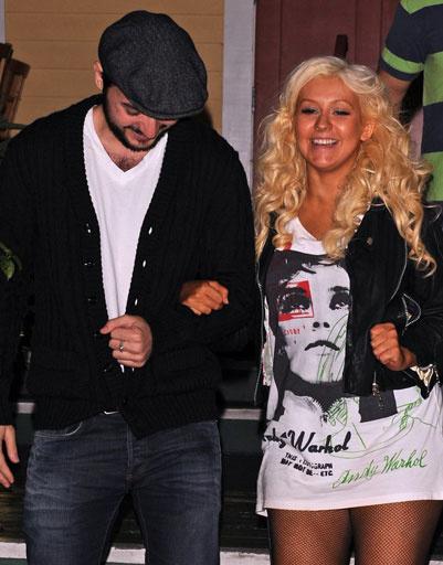 Кристина Агилера (Christina Aguilera) и Мэтт Ратлер (Matt Rutler)