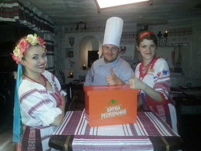 Победитель шоу Битва ресторанов в Тюмени