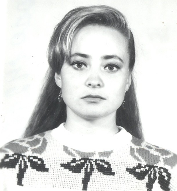 Светлана Пермякова в юности