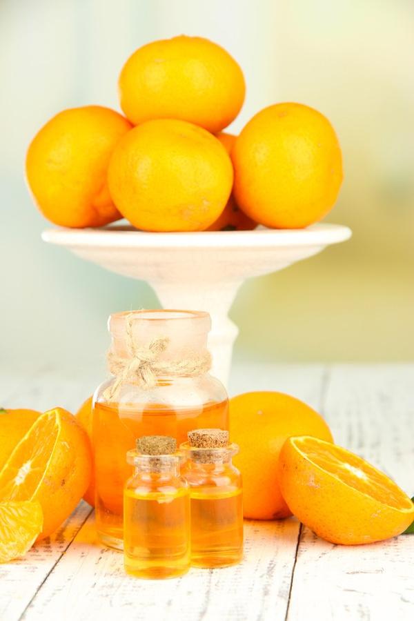 Маски из апельсинового масла