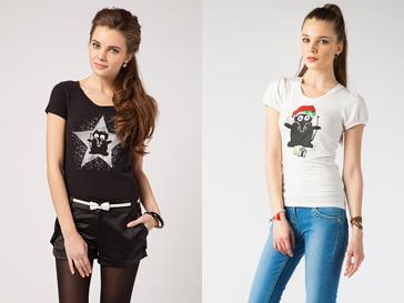 Новогодняя коллекция футболок Киры Пластининой для WWF