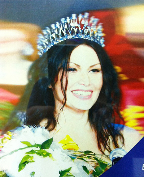 Оксана Ручнова на конкурсе «Миссис Екатеринбург - 2011», фото