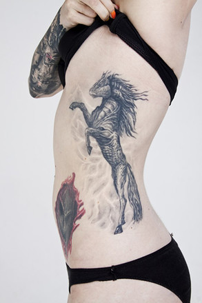 Екатерина Ромашенко, Ural Tattoo Queen 2015